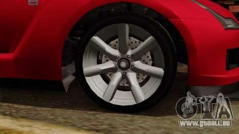 GTA 5 Elegy RH8 für GTA San Andreas rechten Ansicht