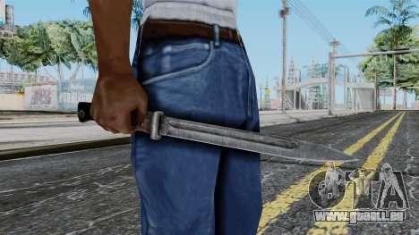 KAR 98 Bayonet from Battlefield 1942 pour GTA San Andreas troisième écran