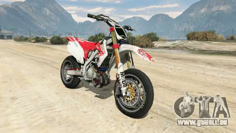 Honda CRF450 Turbo Motard für GTA 5