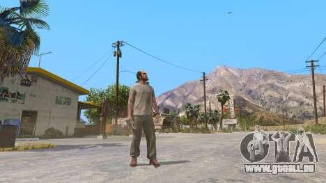 GTA 5 Le Kukri deuxième capture d'écran
