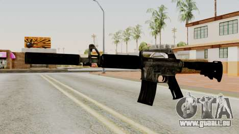 M4A1-S Basilisk pour GTA San Andreas
