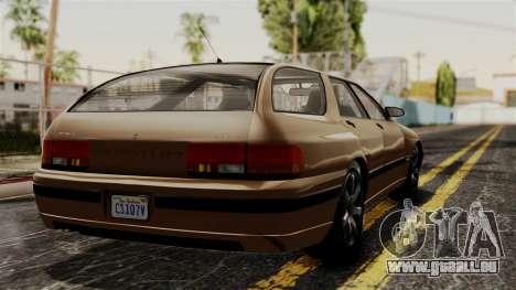 GTA 5 Zirconium Stratum pour GTA San Andreas laissé vue
