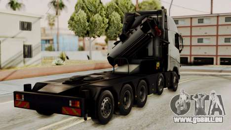 Volvo FH Euro 6 10x4 High Cab pour GTA San Andreas laissé vue