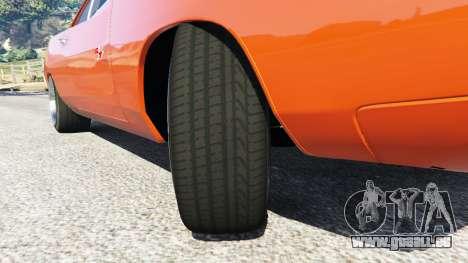 GTA 5 Dodge Charger 1970 Fast & Furious 7 droite vue latérale