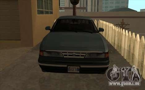 Ford Crown Victoria 1995 SA Stil für GTA San Andreas linke Ansicht