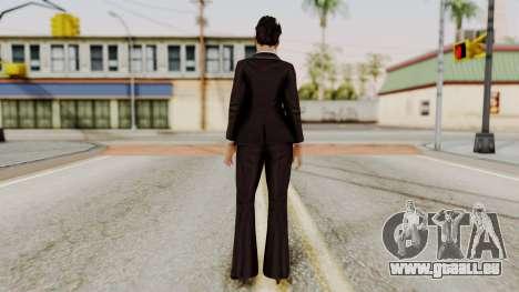 DOA 5 Miyako pour GTA San Andreas troisième écran