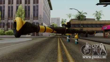 Brasileiro Rocket Launcher v2 für GTA San Andreas dritten Screenshot