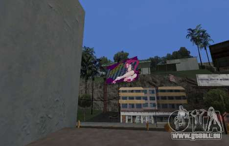 Candy Suxx panneau d'affichage de remplacement pour GTA San Andreas troisième écran