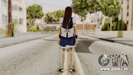 DOA 5 Leifang Maid pour GTA San Andreas troisième écran