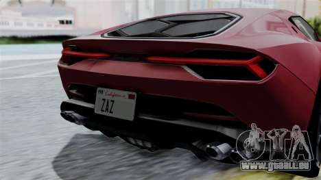 Lamborghini Asterion Concept 2015 v2 pour GTA San Andreas vue de côté