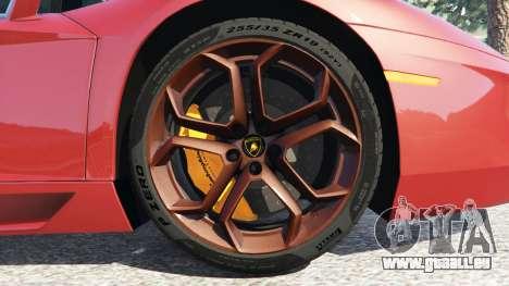 Lamborghini Aventador LP700-4 2012 für GTA 5