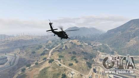 GTA 5 MH-60L Black Hawk sixième capture d'écran