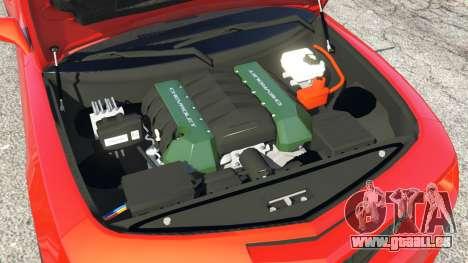 GTA 5 Chevrolet Camaro SS 2010 [Beta] avant droite vue de côté