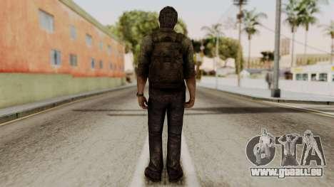 Joel - The Last Of Us für GTA San Andreas dritten Screenshot
