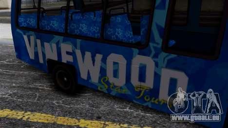 Vinewood VIP Star Tour Bus für GTA San Andreas rechten Ansicht