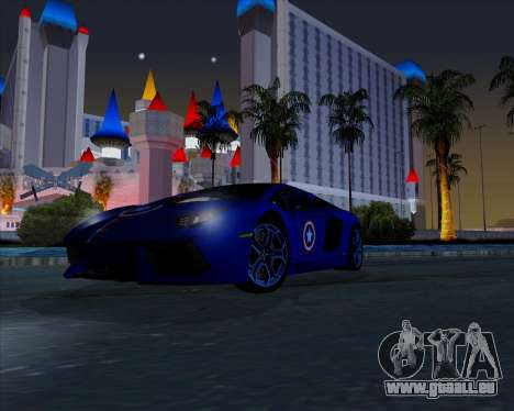 Vitesse ENB V1.1 Low PC pour GTA San Andreas cinquième écran