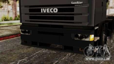 Iveco EuroStar Low Cab pour GTA San Andreas vue de côté