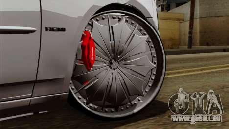 Dodge Charger 2006 DUB für GTA San Andreas zurück linke Ansicht