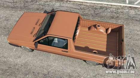 Volkswagen Saveiro Cli 1.6 [Edit] für GTA 5