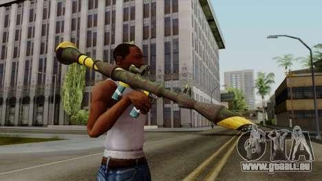 Brasileiro Rocket Launcher v2 für GTA San Andreas