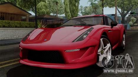 Grotti Carbonizzare FF pour GTA San Andreas