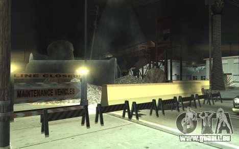 Straßen-Reparatur v2.0 für GTA San Andreas zweiten Screenshot