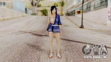 DOA 5 Kokoro DLC für GTA San Andreas zweiten Screenshot