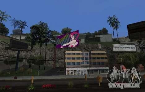 Candy Suxx panneau d'affichage de remplacement pour GTA San Andreas deuxième écran
