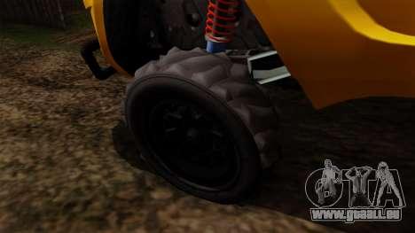 GTA 5 Coil Brawler pour GTA San Andreas sur la vue arrière gauche