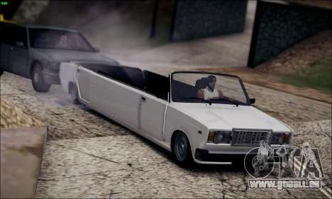 VAZ 2107 limousine pour GTA San Andreas