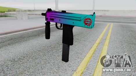 MAC-10 Hotline Miami pour GTA San Andreas deuxième écran