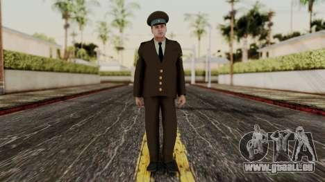 Senior warrant officer der air force für GTA San Andreas zweiten Screenshot