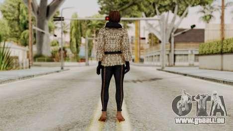 DOA 5 Lisa Hamilton Fashion pour GTA San Andreas troisième écran