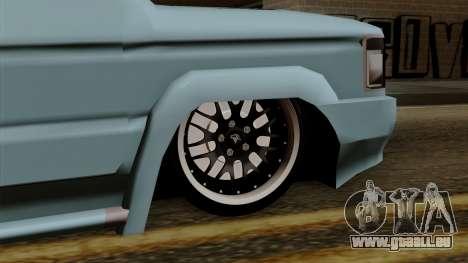 Toyota Kijang Grand Ext pour GTA San Andreas sur la vue arrière gauche