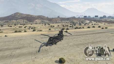 GTA 5 MH-47G Chinook vierten Screenshot