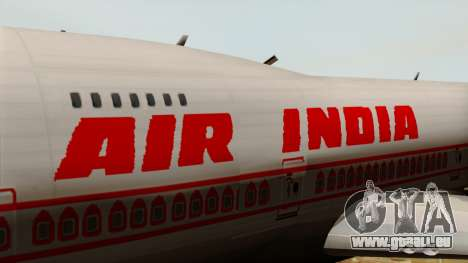 Boeing 747-237B Air India Flight 182 für GTA San Andreas Rückansicht