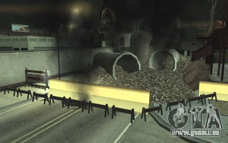 La réparation des routes v2.0 pour GTA San Andreas