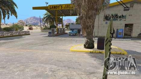 GTA 5 Le Kukri troisième capture d'écran
