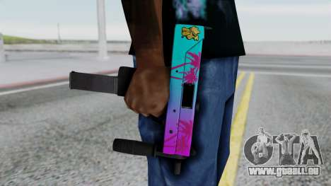 MAC-10 Hotline Miami pour GTA San Andreas troisième écran