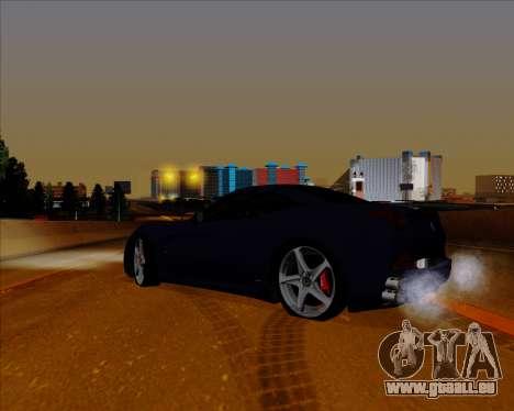 Vitesse ENB V1.1 Low PC pour GTA San Andreas quatrième écran