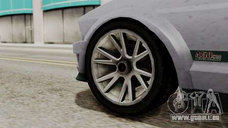 GTA 5 Vapid Dominator SA Style für GTA San Andreas zurück linke Ansicht