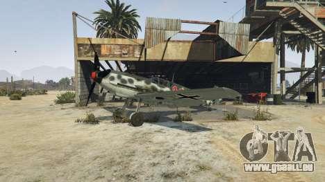 GTA 5 Messerschmitt BF-109 E3 v1.1 dritten Screenshot