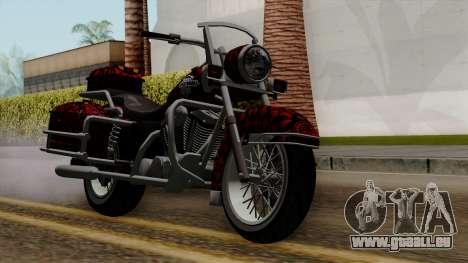 Classic Batik Motorcycle pour GTA San Andreas