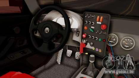 Honda S2000 GT1 pour GTA San Andreas vue de droite