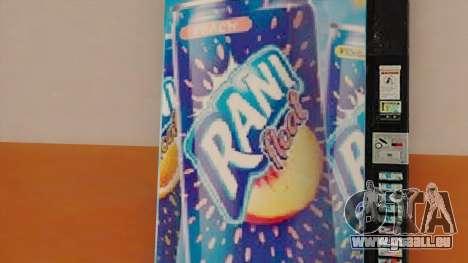 Rani Juice Machine für GTA San Andreas dritten Screenshot