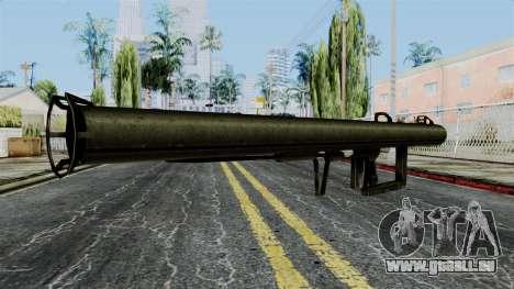 Panzershreck from Battlefield 1942 pour GTA San Andreas deuxième écran