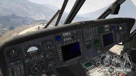 GTA 5 MH-60L Black Hawk cinquième capture d'écran