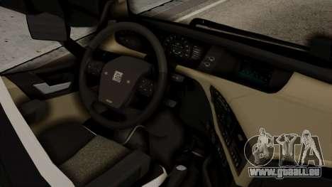 Volvo FH Euro 6 10x4 High Cab für GTA San Andreas rechten Ansicht