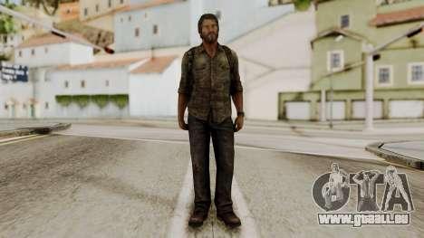 Joel - The Last Of Us für GTA San Andreas zweiten Screenshot