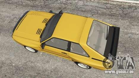 GTA 5 Audi Sport quattro vue arrière